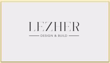 Logo Lezher - Design & Build