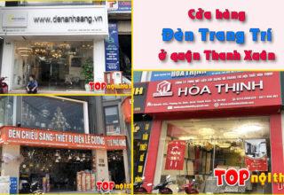 Các cửa hàng bán đèn trang trí ở quận Thanh Xuân