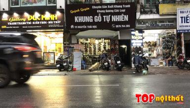 Cửa hàng khung Quỳnh Quyên ở 111 Nguyễn Thái Học, Ba Đình, HN
