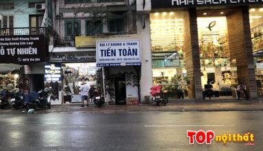 Cửa hàng khung - tranh Tiến Toàn ở 115 Nguyễn Thái Học, Ba Đình, HN