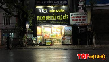 Cửa hàng tranh Bảo Quân ở 91 Nguyễn Thái Học, Ba Đình, HN