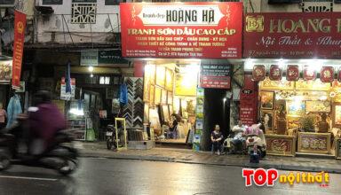 Cửa hàng tranh Hoàng Hà ở 97A Nguyễn Thái Học, Ba Đình, HN