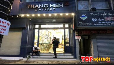 Cửa hàng tranh -khung Thắng Hiền ở 81 Nguyễn Thái Học, Ba Đình, HN
