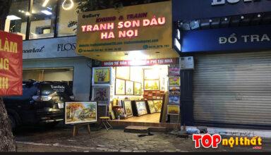Cửa hàng tranh sơn dầu hà nội ở 79A Nguyễn Thái Học, Ba Đình, HN