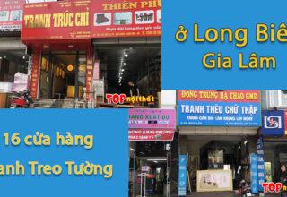 Cửa hàng bán tranh treo tường ở Long Biên Gia Lâm