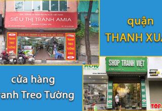 Địa chỉ của hàng tranh treo tường quận Thanh Xuân