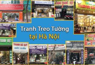 Cửa hàng bán tranh treo tường ở Hà Nội
