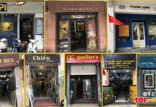 Địa chỉ cửa hàng tranh ở quận Hoàn Kiếm
