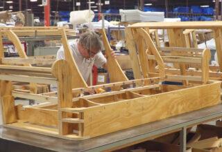 xuất khẩu đồ gỗ nội thất Việt Nam 5 tháng 2021